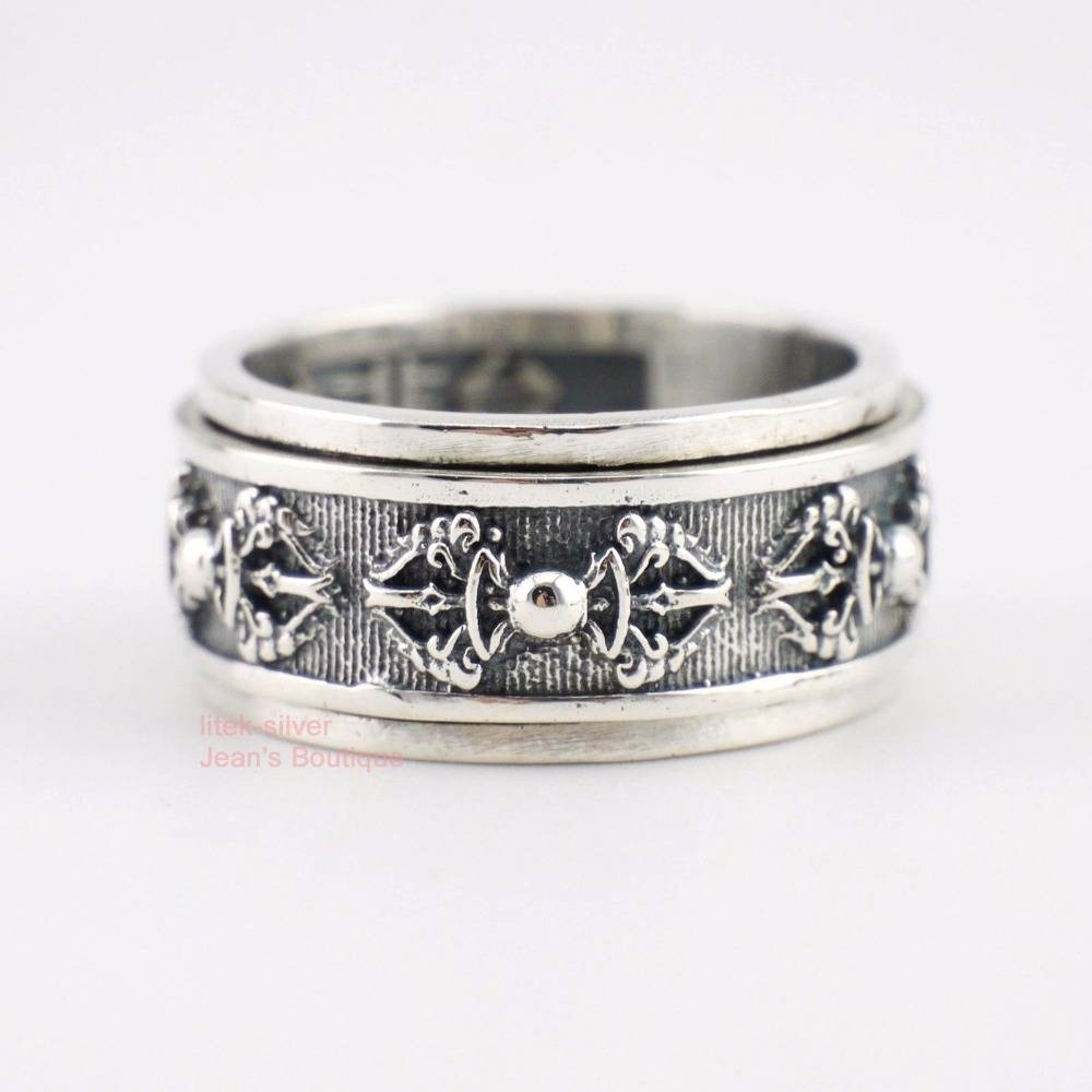 15 Photo Of Mens Spinner Wedding Bands