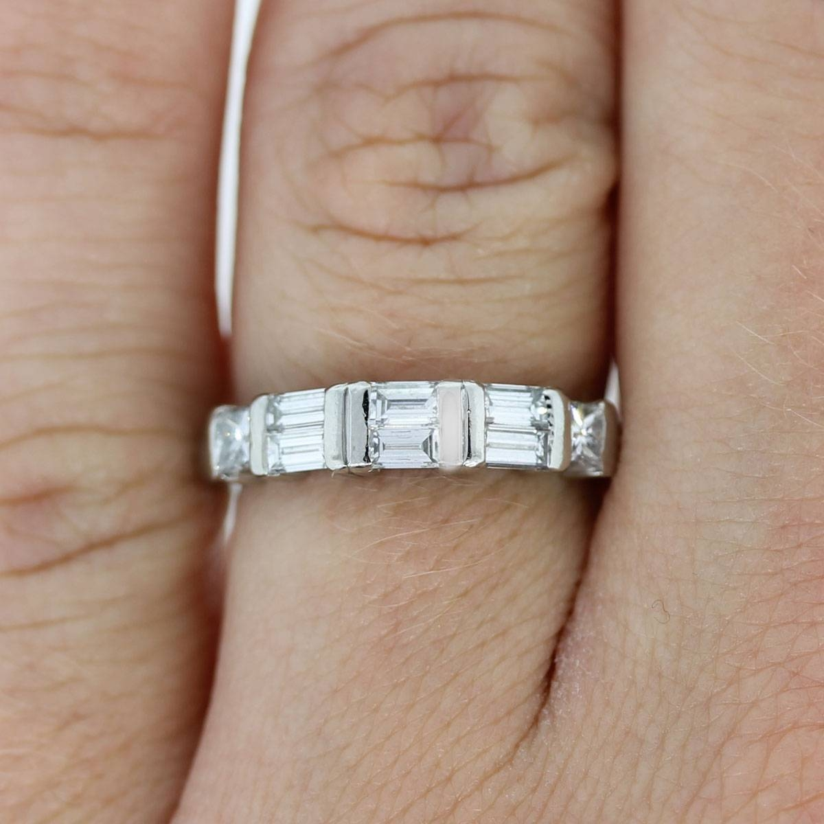 15 Best Collection Of Wedding Bands With Baguettes