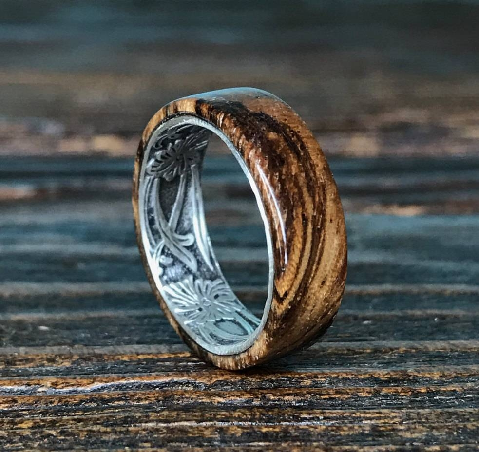 2018 Popular Handmade Mens Wedding Rings