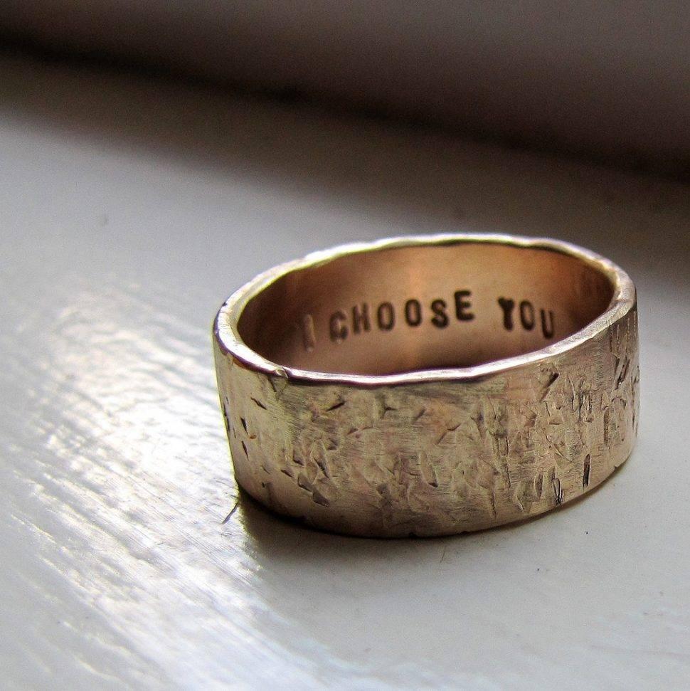 2018 Latest Fun Wedding Rings