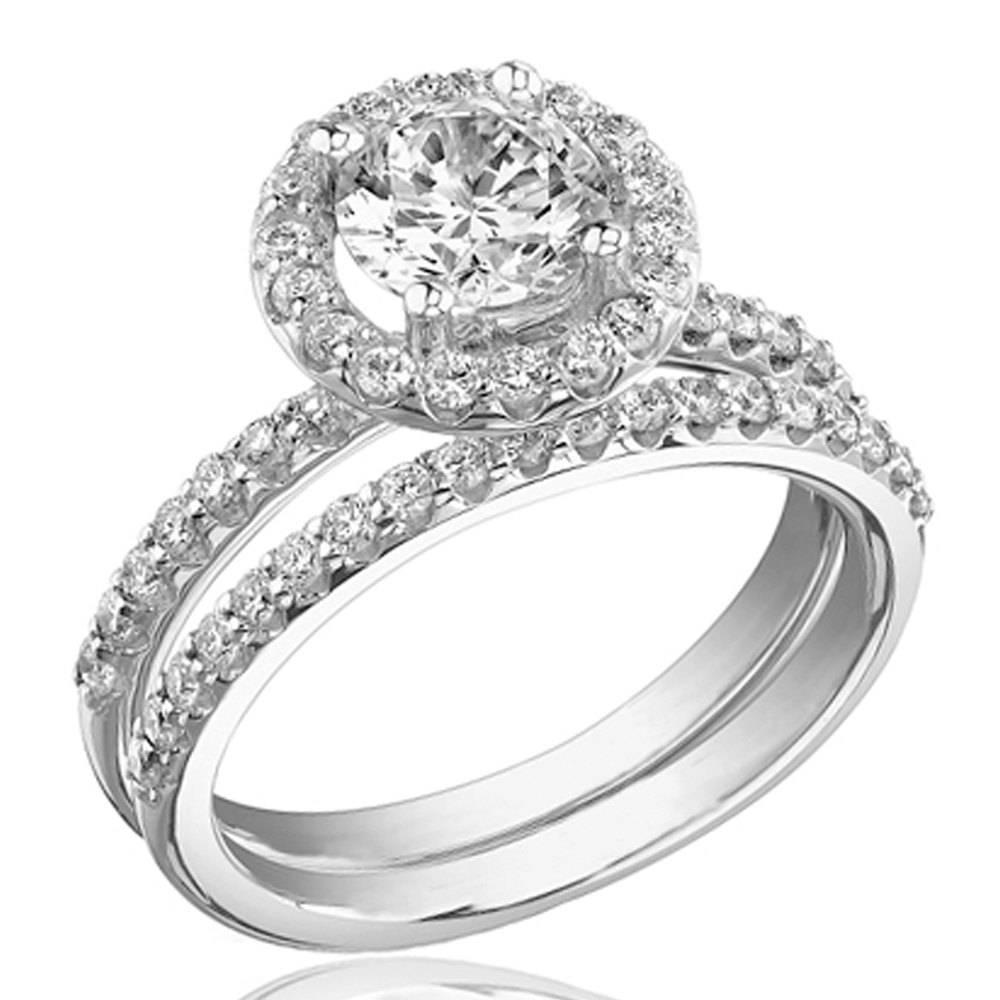 15 Photo Of White Gold Wedding Rings For Women