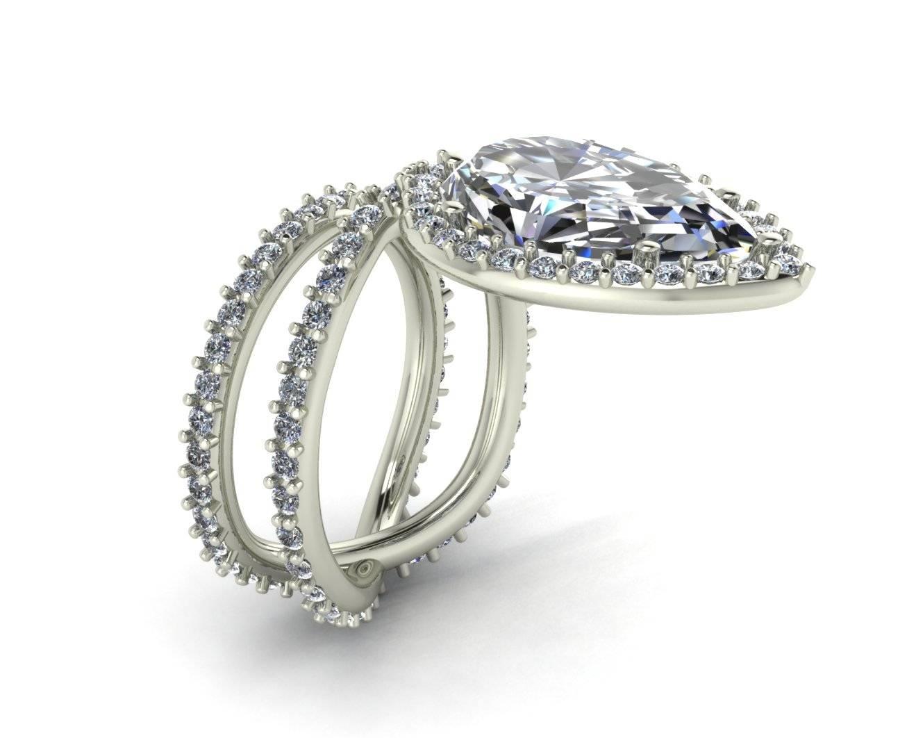 15 Best Ideas Of Custom Diamond Engagement Rings