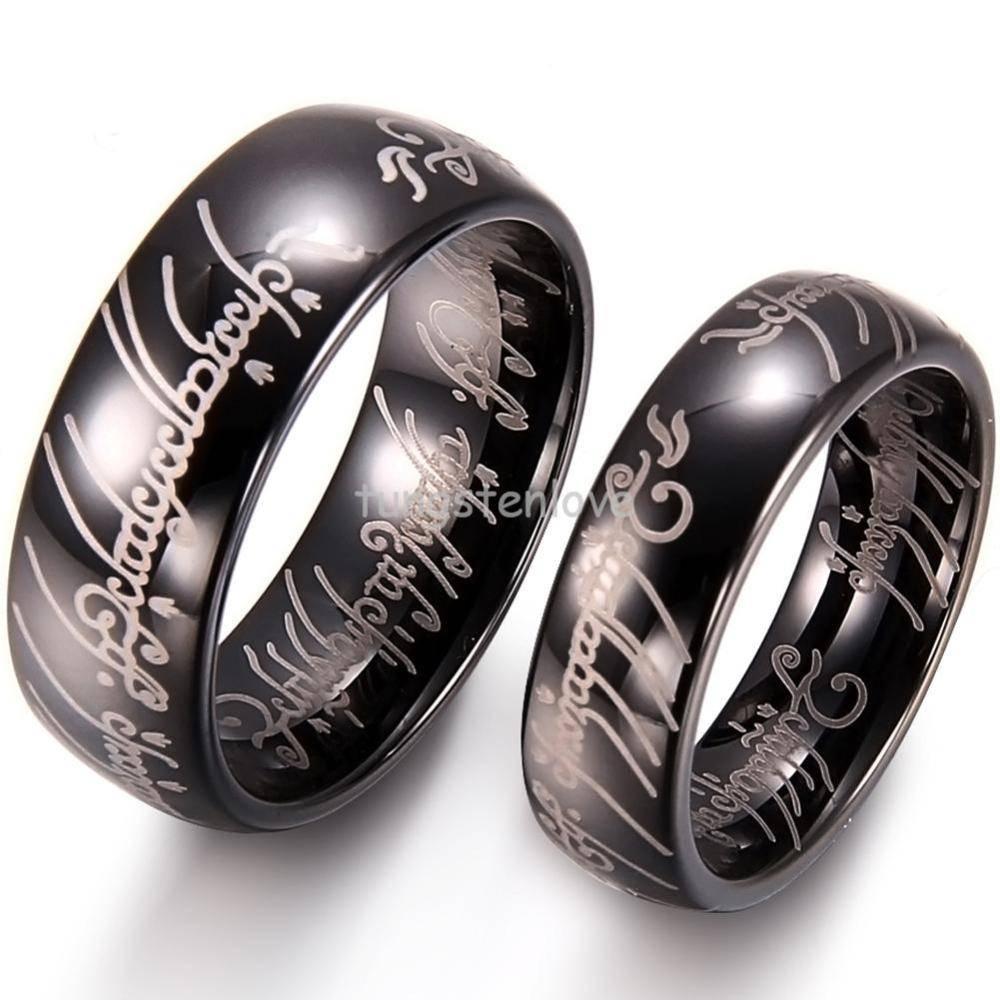 15 Photo Of Titanium Men Wedding Rings