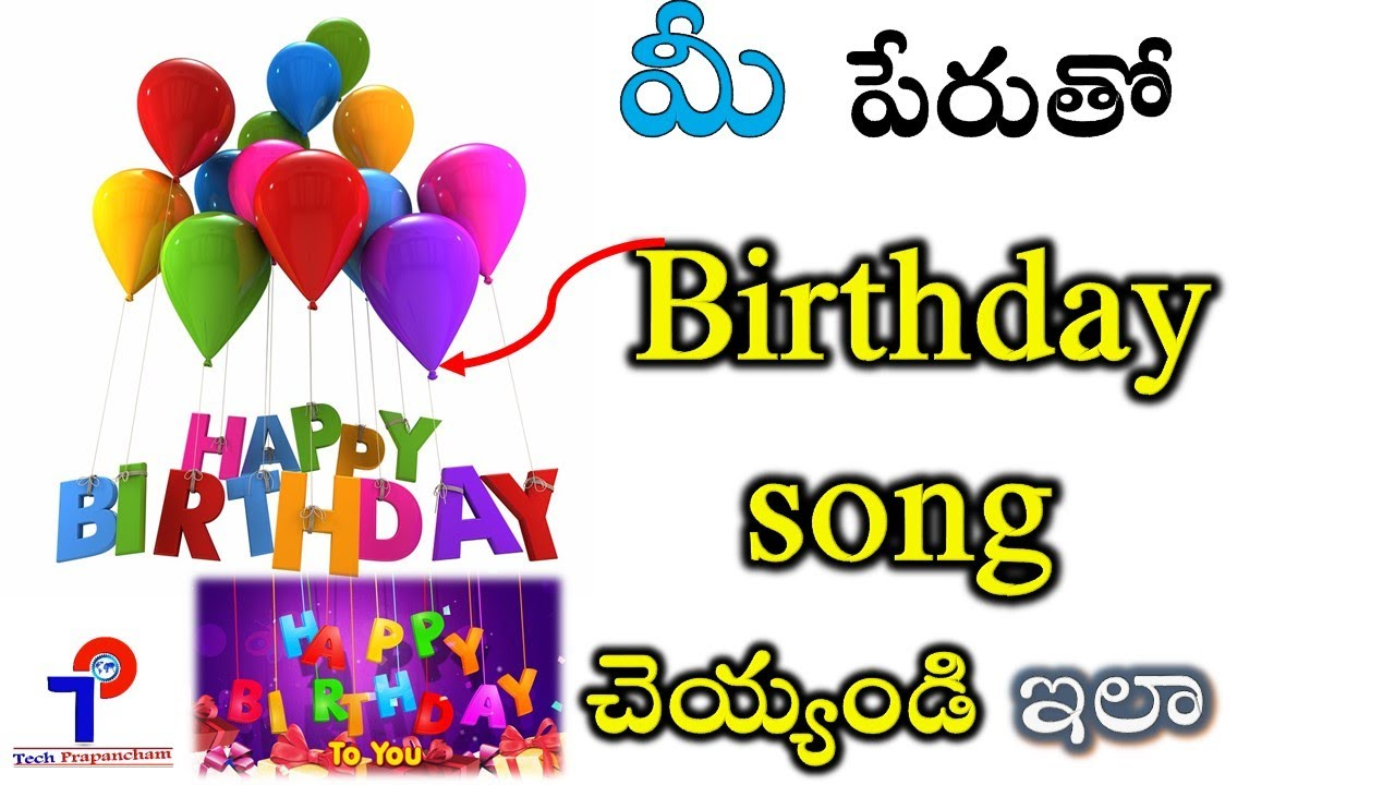 Happy Birthday Song Download Free Mp3 In Telugu Fasryi