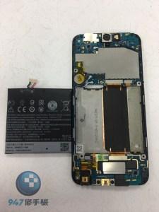 不顯示的 HTC A9 要更換電池? 還是更換螢幕面板?來檢測看看吧! HTC 手機維修