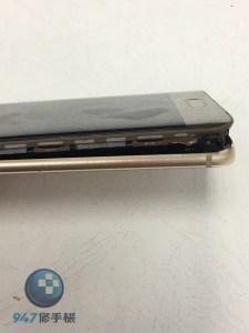 電池膨脹到螢幕面板撐開的華為MATE 9 PRO!! 即刻更換電池救援!! 華為手機維修