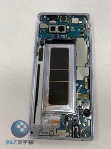 三星 NOTE8 螢幕面板破裂一小角也要更換螢幕面板三星手機維修