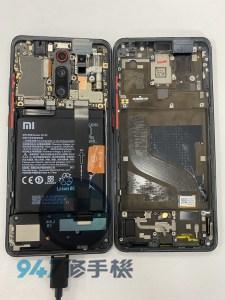 摔機的小米 K20 PRO螢幕面板無法在顯示了 小米手機維修