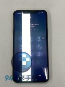 這絕對不是螢幕保護裝置,螢幕顯示摔壞的 IPHONE XS的!! IPHONE XS面板維修