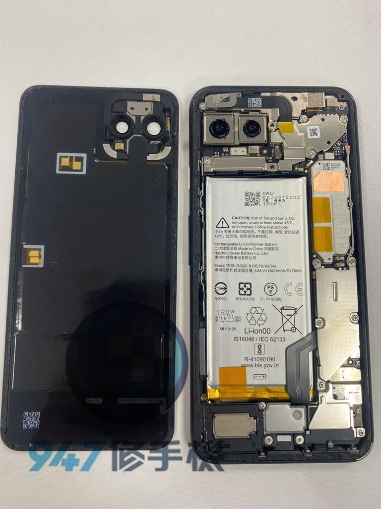 pixel 4手機維修_電池更換_面板更換03