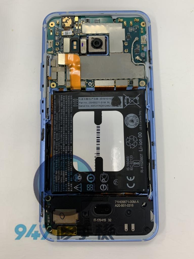 HTC U11手機維修_電池更換_面板更換02