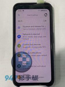 都是蟑螂惹的禍,破裂的PIEXL 4面板螢幕 PIEXL 手機維修