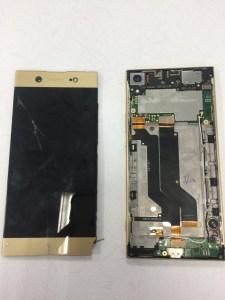 看我火眼金睛辨別螢幕破裂的手機型號!原來是XA1 PLUS啊!SONY手機維修