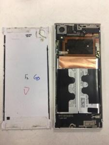 不小心一屁股坐在SONY XA上螢幕無法顯示了 SONY手機維修