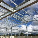 Perfiles estructurales en acero galvanizado