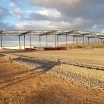 Estructura para galpon industrial