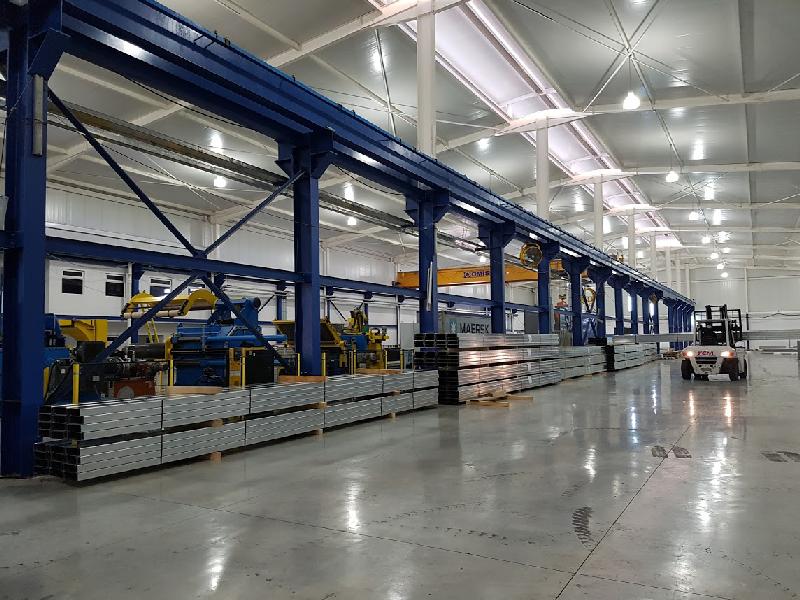 fábrica de estructura metálica