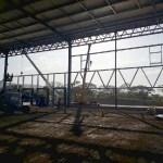 Construcción en estructura metálica