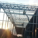 estructura para techo de grandes dimensiones