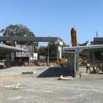 estructura para techos de estacionamiento