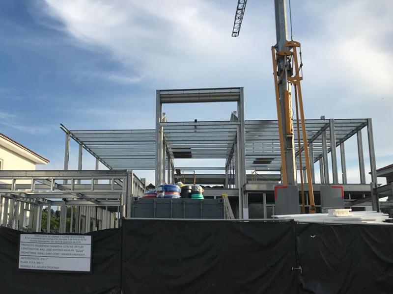 estructura metalica para vivienda en panama