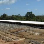 estructura metalica para galpon avícola