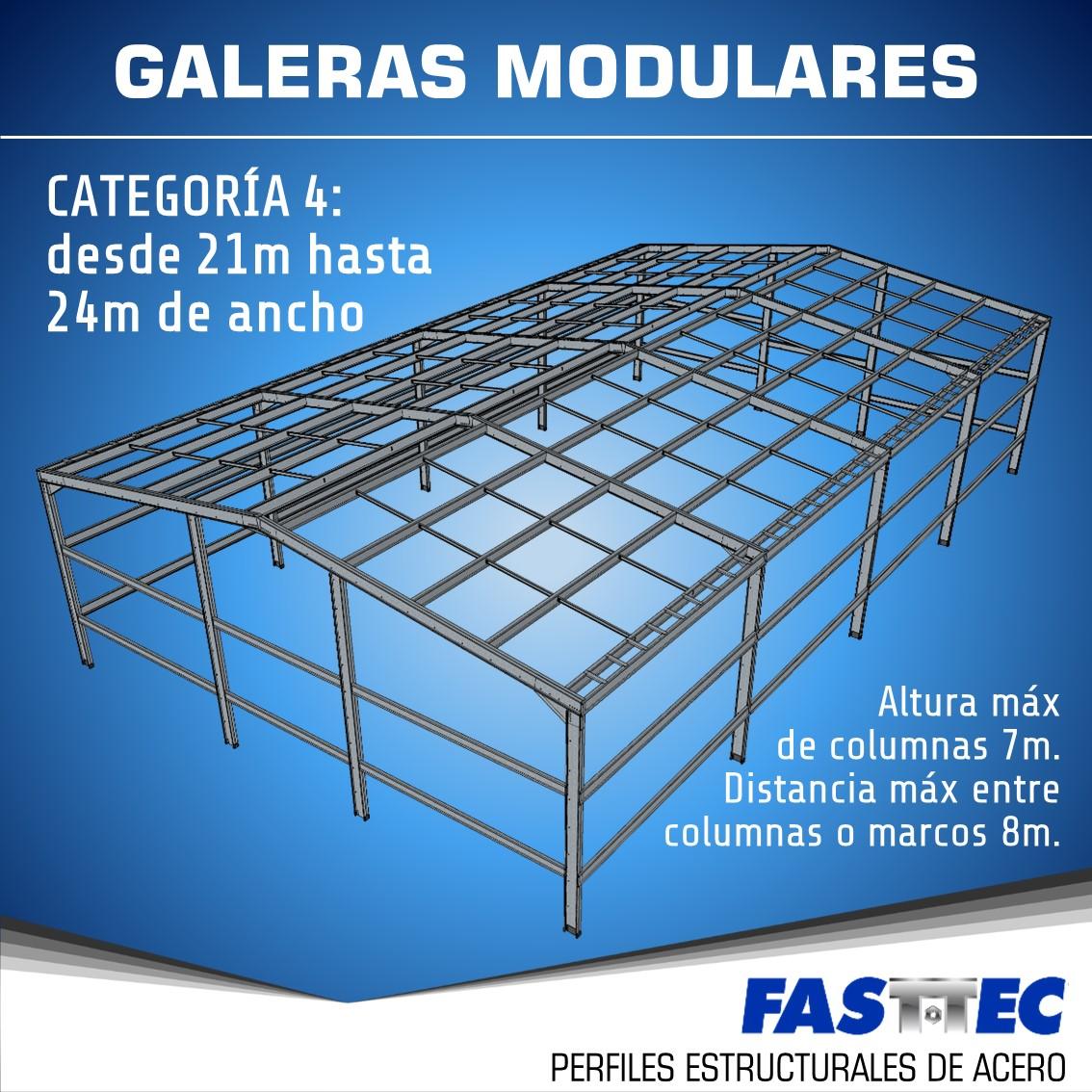 Galera Modular tipo 4