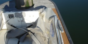 Transom coming unglued from the pontoon