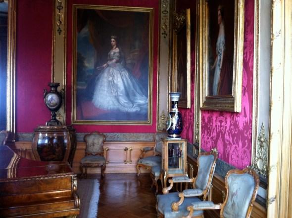 Empress Carlota's room
