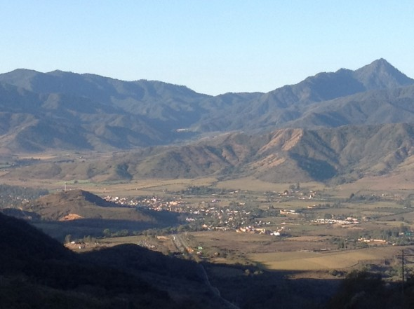 Talpa, way down in the valley