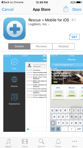 Steps to Install LogMeIn on iPhone & Android phones