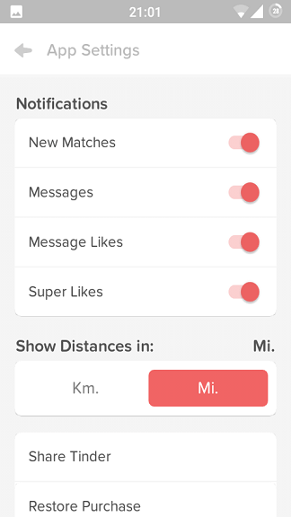 Mean tinder do icons what the Tinder Icons