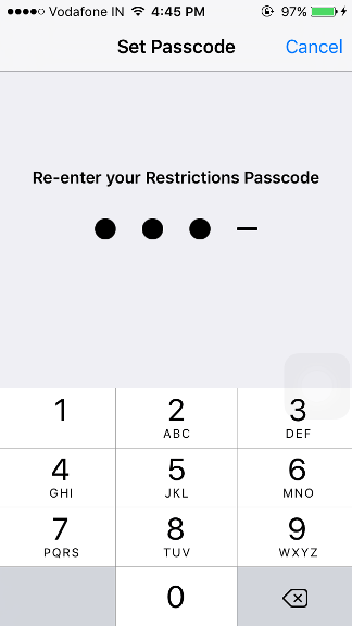 How to lock apps on iPhone?