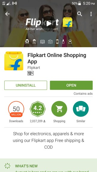 how to use flipkart app?