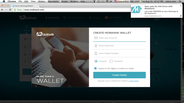 How to use MobiKwik?