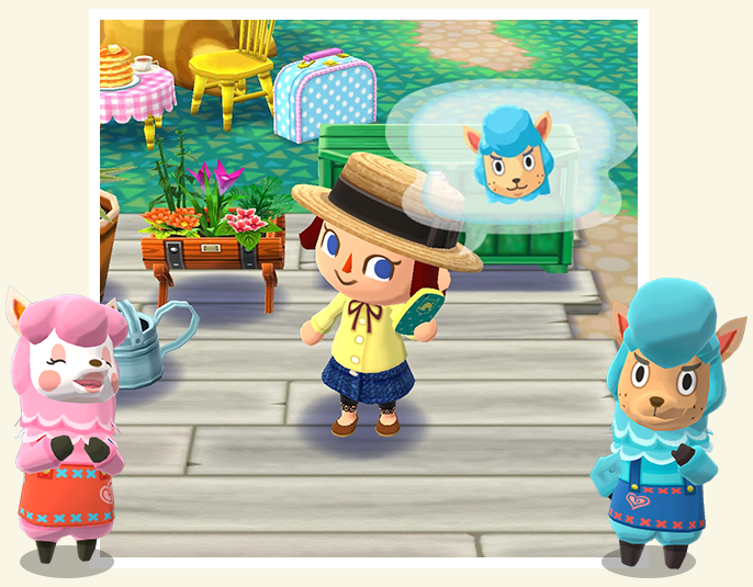 How to play animal crossing pocket camp game