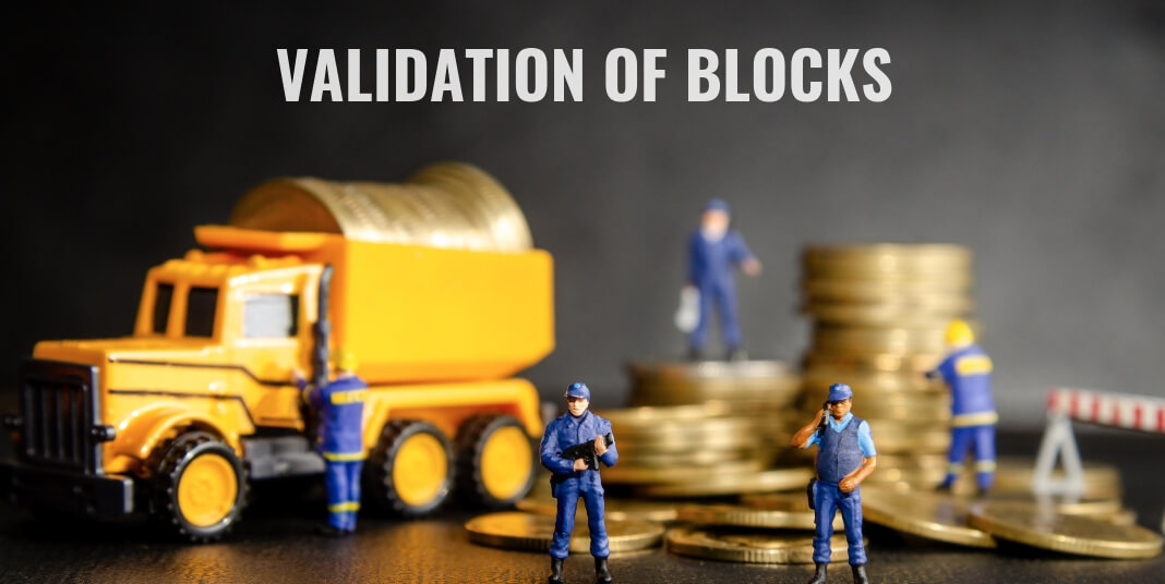 Validate the Integrity of the Blocks