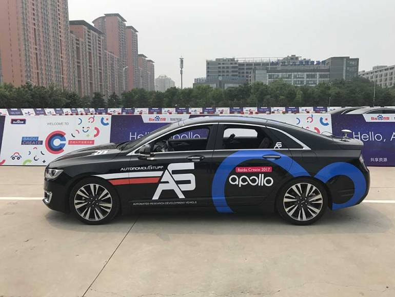 Baidu Chalks Down Certain Bold New Targets For Its Autonomous Venture
