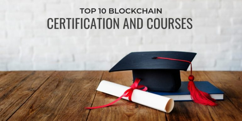 Level ten Top 10 cryptocurrency certification and courses