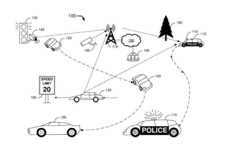 Ford Submits Patent For An Autonomous Police Vehicle