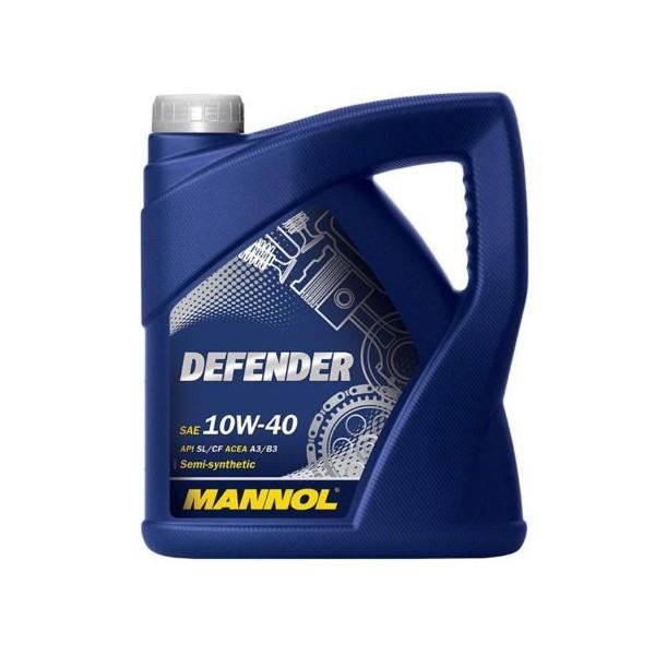 Mannol Defender 10w40 5 liter voor €19,50