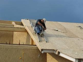 Sandviç panellerden bir çatı inşa etme süreci