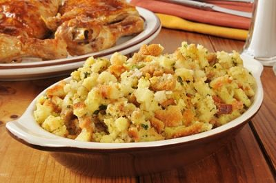 Baked Chicken in Stuffing Recipe