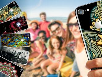 Τοποθετήσετε οποιαδήποτε εικόνα ή φωτογραφία απευθείας στην επιφάνεια του κινητού σας, στη θήκη του ή στο προστατευτικό του κάλυμμα.