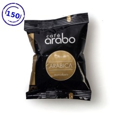 Caja de 150 cápsulas de café arabo Arabica