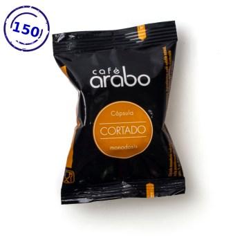 Caja de 150 cápsulas de café arabo - Cortado