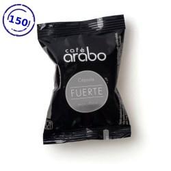 Caja de 150 cápsulas de café arabo - Fuerte