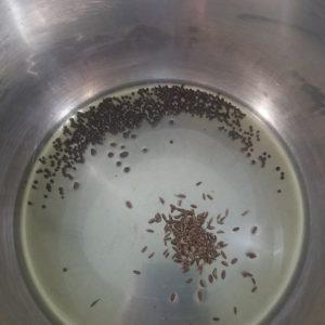 saute mode instant pot add mustard and cumin seeds