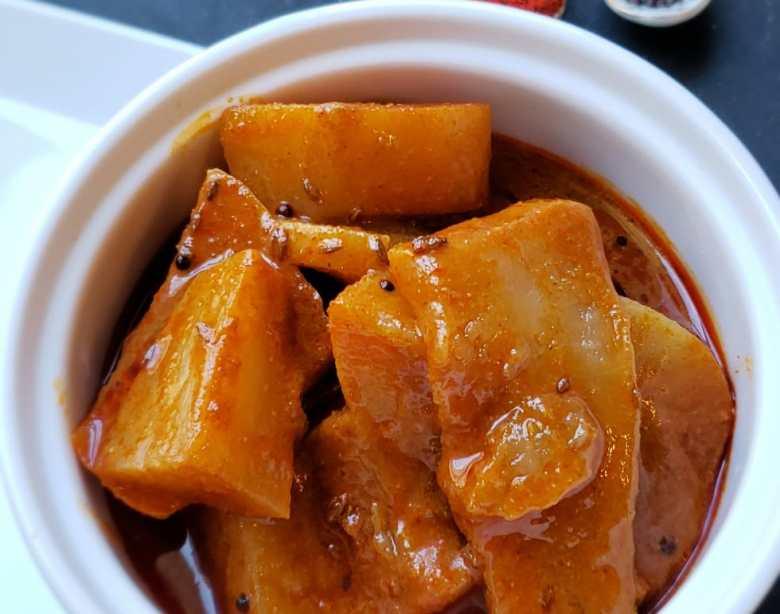daikon radish curry
