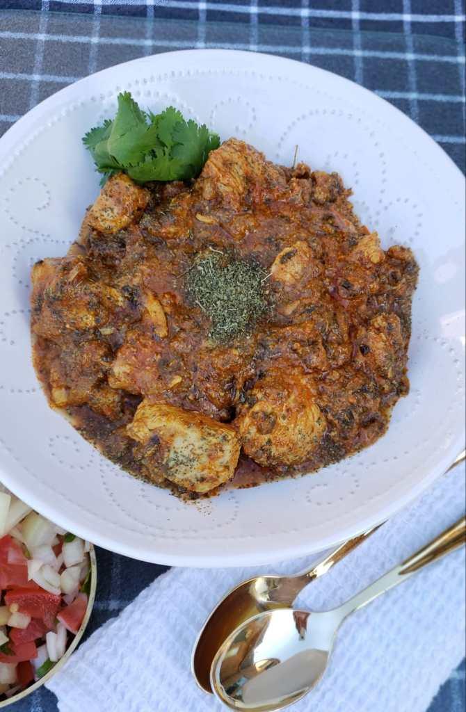 instnat pot methi chicken
